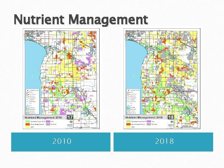 Nutrient Management 2010 2018