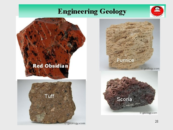 Engineering Geology Red Obsidian Tuff Pumice Scoria 28