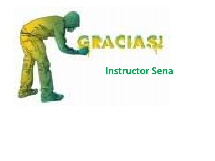 Instructor Sena