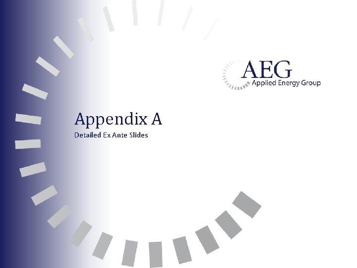 Appendix A Detailed Ex Ante Slides
