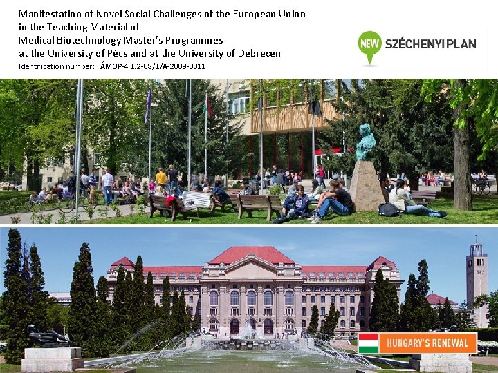 Manifestation of Novel Social Challenges of the European Union in the Teaching Material of