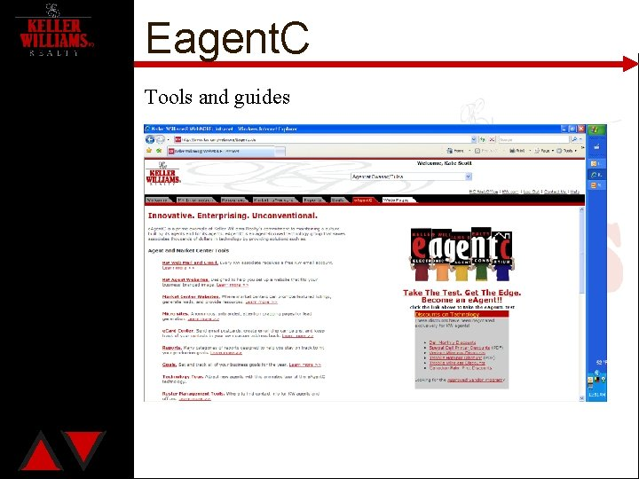 Eagent. C Tools and guides