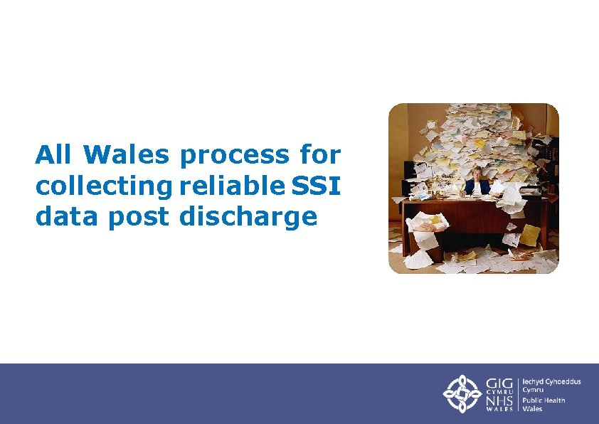 All Wales process for collecting reliable SSI data post discharge