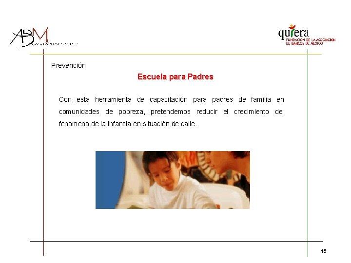 Prevención Escuela para Padres Con esta herramienta de capacitación para padres de familia en