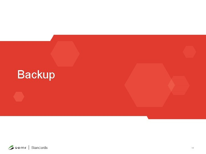 Backup 14