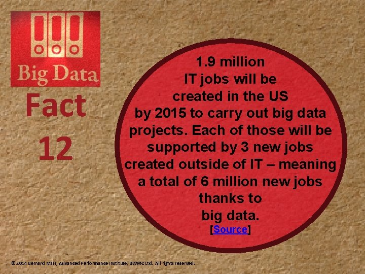 Fact 12 1. 9 million IT jobs will be created in the US by