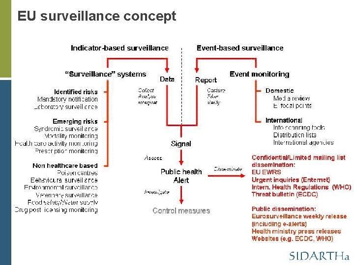 EU surveillance concept