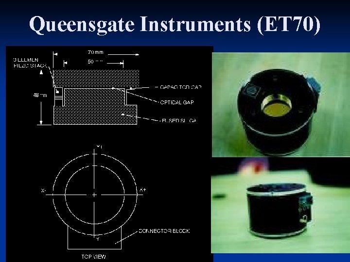 Queensgate Instruments (ET 70) Aug-Nov, 2008 IAG/USP (Keith Taylor)
