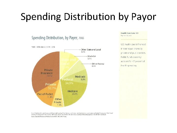 Spending Distribution by Payor