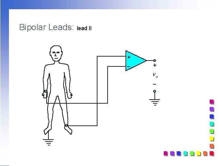 Bipolar Leads: lead II + _