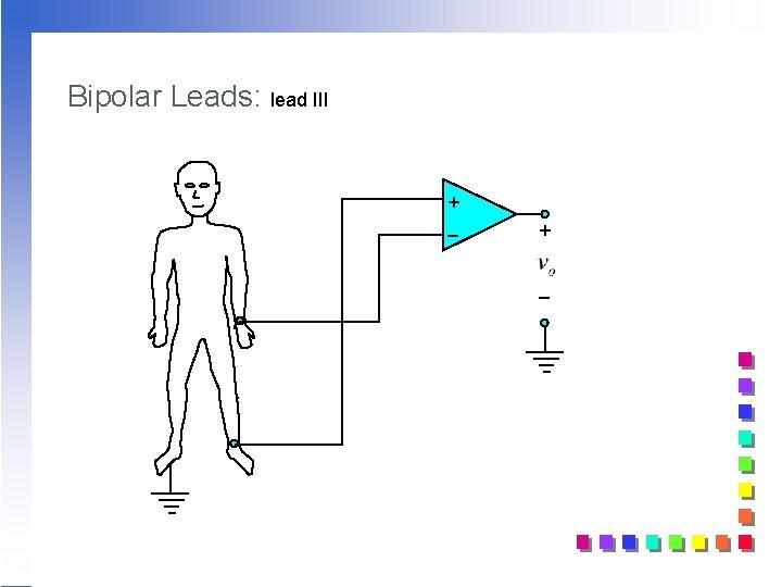 Bipolar Leads: lead III + _