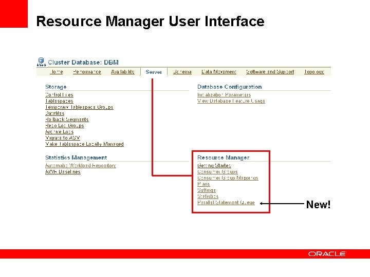 Resource Manager User Interface New!