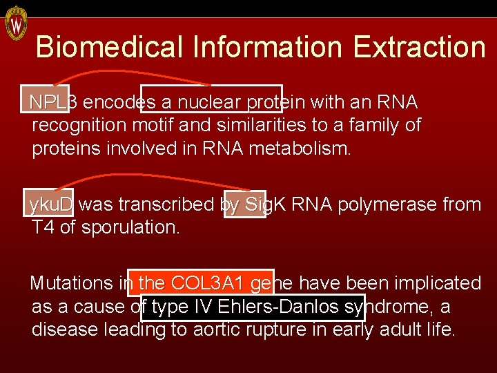 Biomedical Information Extraction NPL 3 encodes a nuclear protein with an RNA recognition motif
