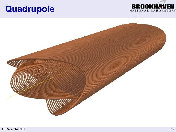 Quadrupole 15 December 2011 12
