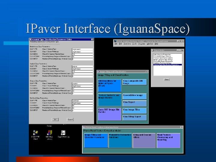 IPaver Interface (Iguana. Space)