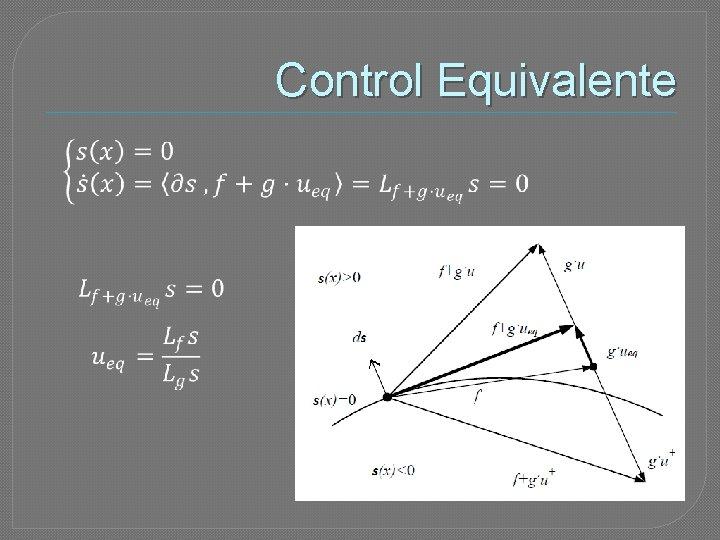 Control Equivalente