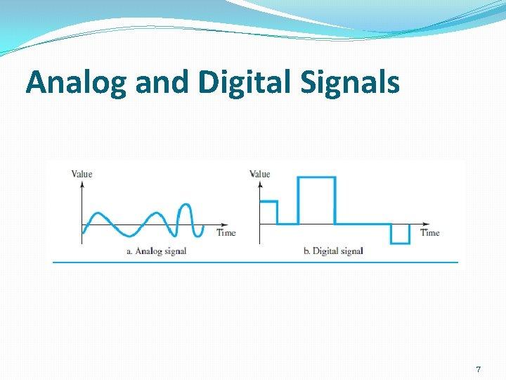 Analog and Digital Signals 7
