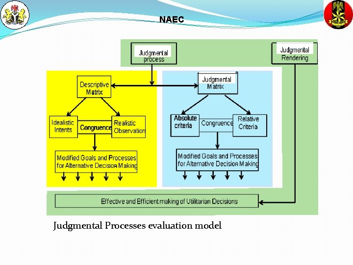 NAEC Judgmental Processes evaluation model