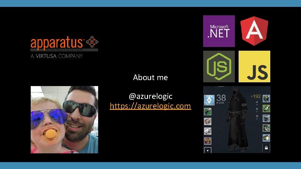 About me @azurelogic https: //azurelogic. com