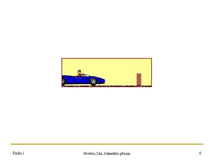 Fizika 1 Newton; Sila; Jednadzbe gibanja 9