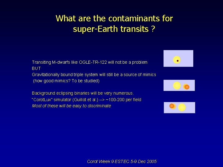 What are the contaminants for super-Earth transits ? Transiting M-dwarfs like OGLE-TR-122 will not