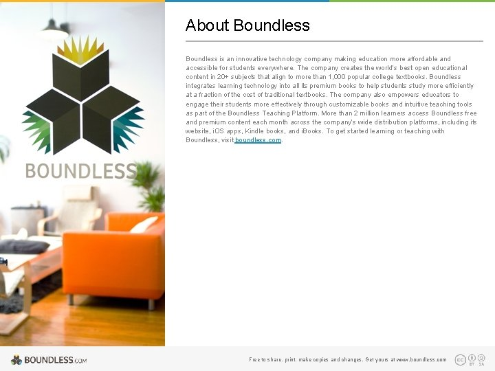 About Boundless is an innovative technology company making education more affordable and accessible for