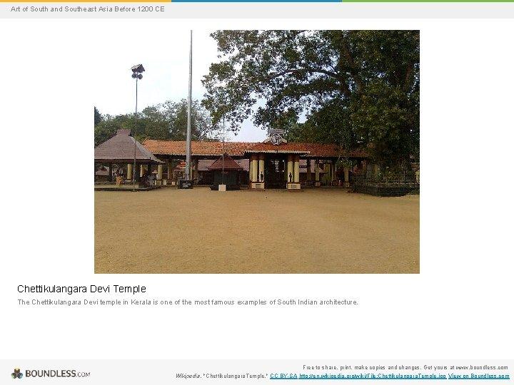 Art of South and Southeast Asia Before 1200 CE Chettikulangara Devi Temple The Chettikulangara