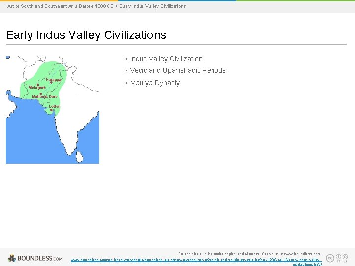 Art of South and Southeast Asia Before 1200 CE > Early Indus Valley Civilizations