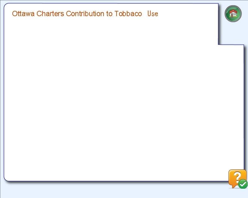 Ottawa Charters Contribution to Tobbaco Use