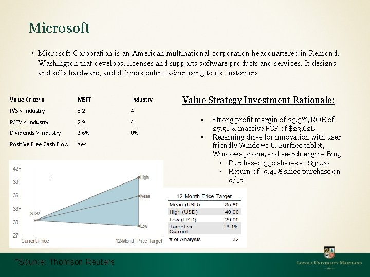 Microsoft § Microsoft Corporation is an American multinational corporation headquartered in Remond, Washington that