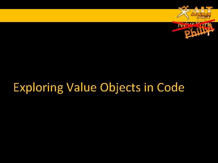 Exploring Value Objects in Code