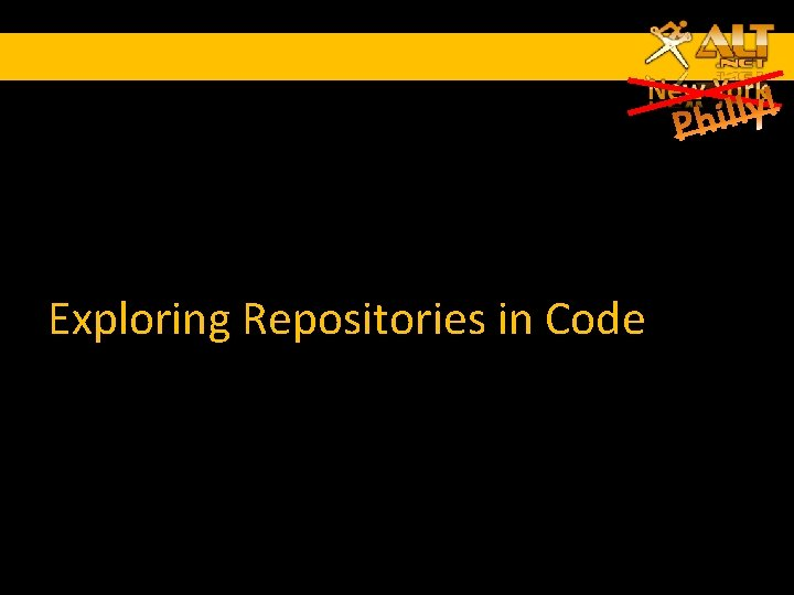 Exploring Repositories in Code