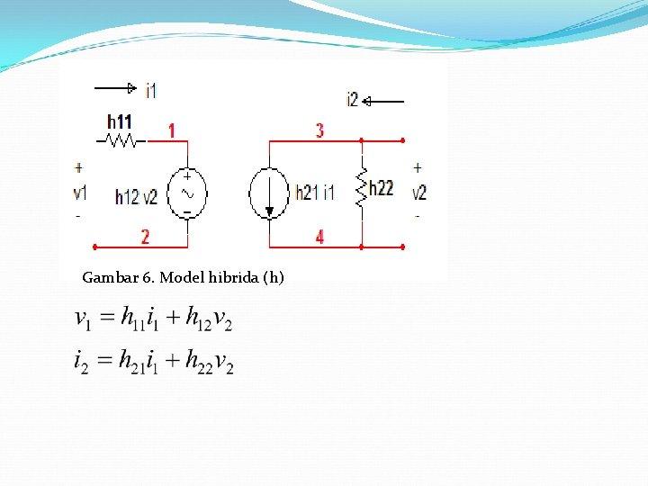 Gambar 6. Model hibrida (h)