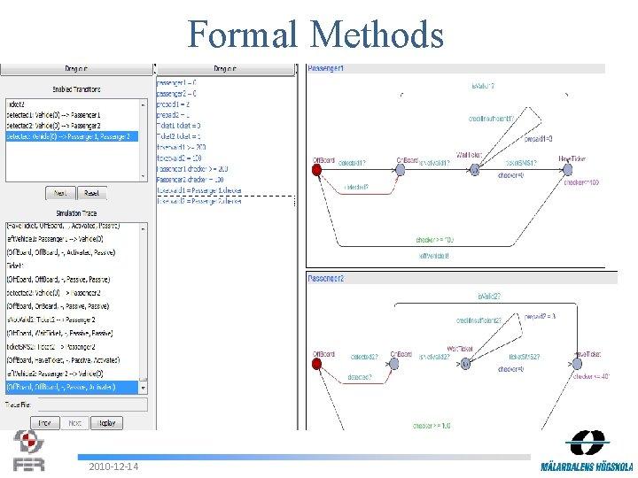 Formal Methods 2010 -12 -14