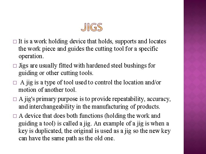 It is a work holding device that holds, supports and locates the work piece