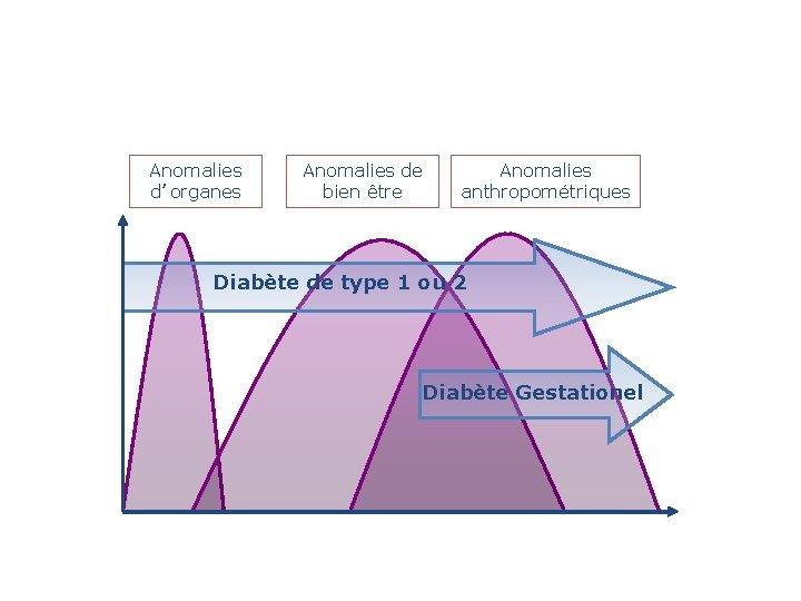 Anomalies d'organes Anomalies de bien être Anomalies anthropométriques Diabète de type 1 ou 2