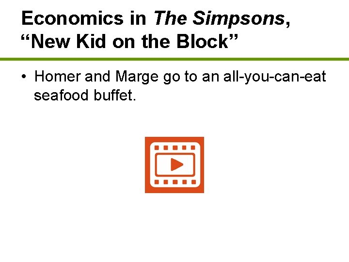 """Economics in The Simpsons, """"New Kid on the Block"""" • Homer and Marge go"""