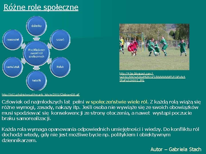 Różne role społeczne http: //4. bp. blogspot. com/ja. Oi 3 LU 50 Ow/UJoz. MOKny