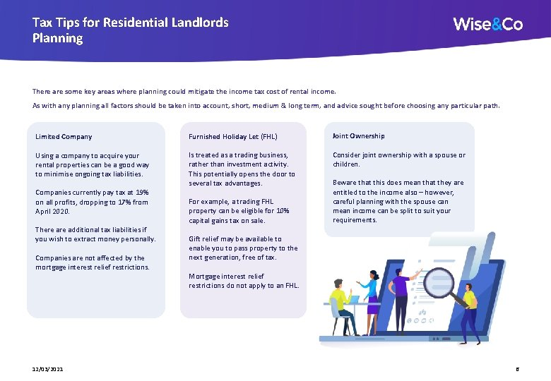 Tax Tips for Residential Landlords Planning There are some key areas where planning could