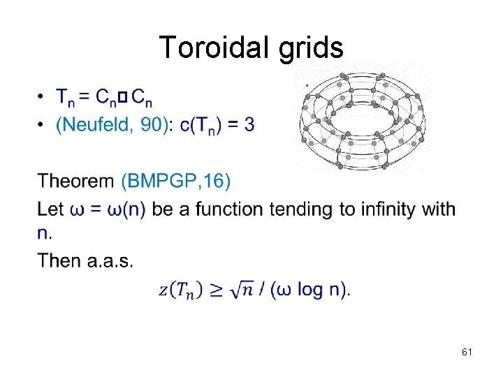 Toroidal grids • 61