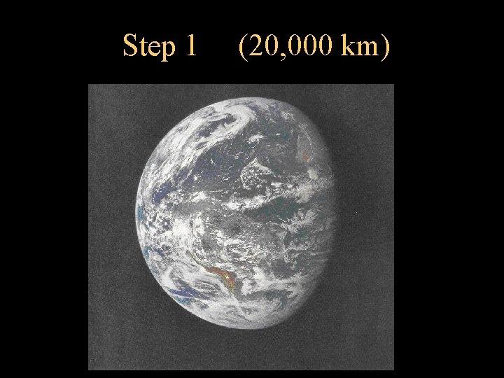 Step 1 (20, 000 km)