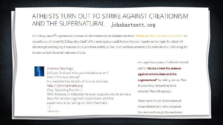 johnhartnett. org