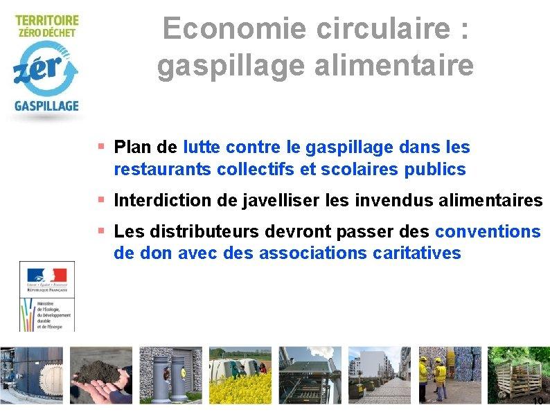 Economie circulaire : gaspillage alimentaire Plan de lutte contre le gaspillage dans les restaurants