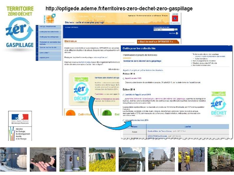 http: //optigede. ademe. fr/territoires-zero-dechet-zero-gaspillage