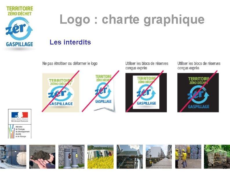 Logo : charte graphique Les interdits 39