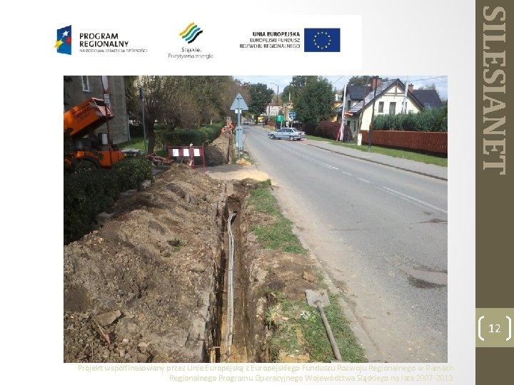 SILESIANET 12 Projekt współfinasowany przez Unie Europejską z Europejskiego Funduszu Rozwoju Regionalnego w Ramach