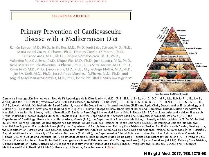 Centro de Investigación Biomédica en Red de Fisiopatología de la Obesidad y Nutrición (R.