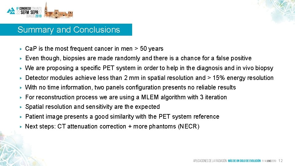 Summary and Conclusions ▶ Ca. P is the most frequent cancer in men >