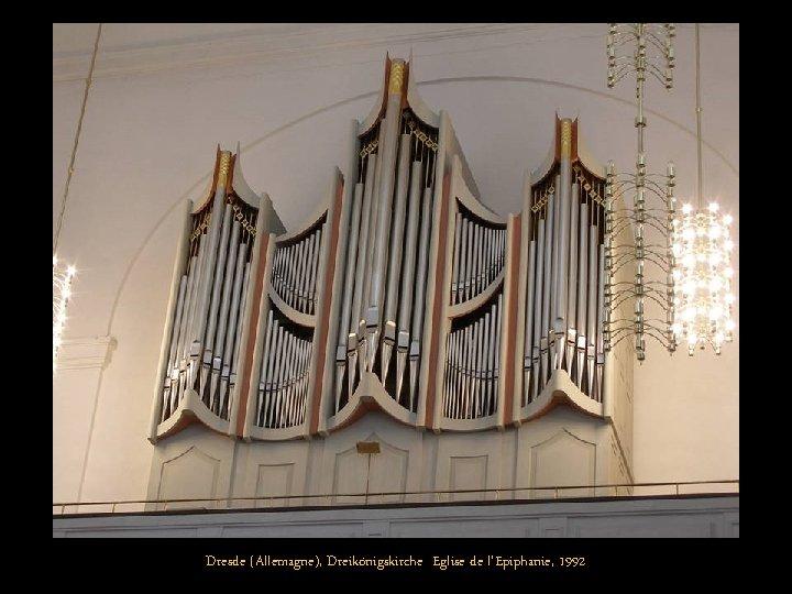 Dresde (Allemagne), Dreikönigskirche Eglise de l'Epiphanie, 1992