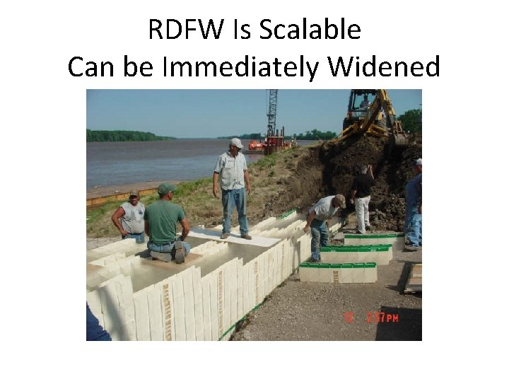 RDFW Is Scalable Can be Immediately Widened